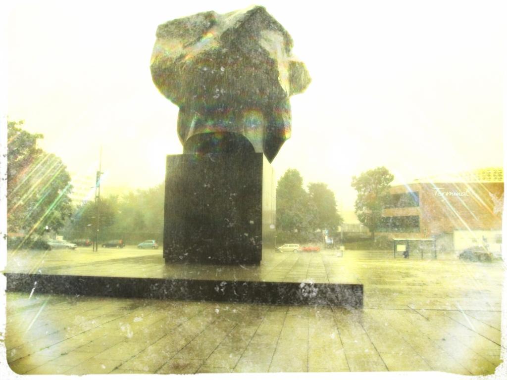 Das Grab von Marx sorgt für Aufsehen in Chemnitz