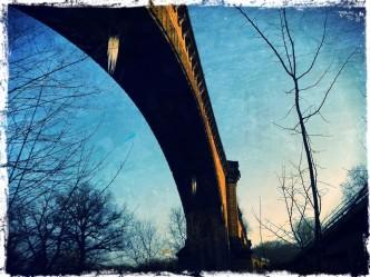 Löcher im Aquädukt legen Chemnitz trocken