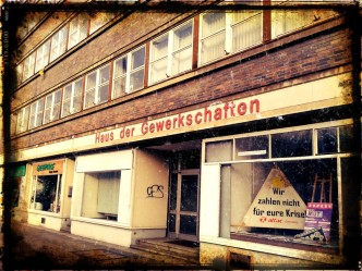 Schweres Los für Gewerkschaften in Karl-Marx-Stadt