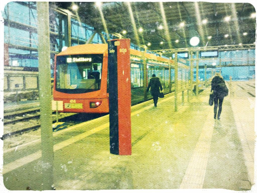 In Chemnitz fahren die Züge jetzt auch in den Bahnhof
