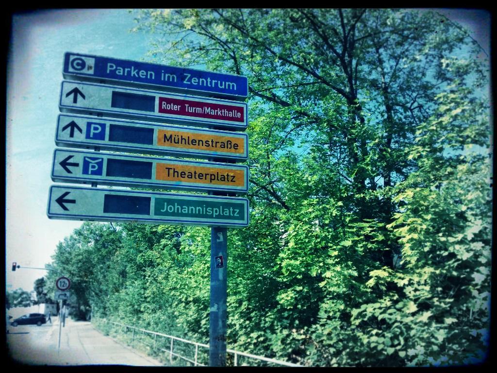 Chemnitz vor dem Kollaps - Ausfall Parkleitsystem nur der Anfang